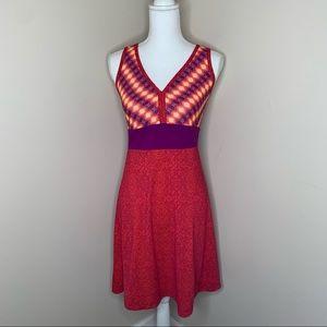 MARMOT Bright Colorful Sleeveless Midi Dress